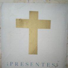 Documentos antiguos: ORACIÓN EN MEMORIA DE LOS CAÍDOS, 29 OCTUBRE 1937. EDITADO POR LA DELEGACIÓN DE PRENSA DE GRANADA. Lote 101301871