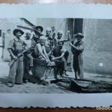 Documentos antiguos: FOTO MILITAR MELILLA EJERCITO DE TIERRA 1949 7,5 X 5 CM (APROX). Lote 101443931