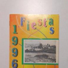 Documentos antiguos: PROGRAMA DE FIESTAS DE EL REDAL. LA RIOJA. 1996. TDKP2. Lote 101928019
