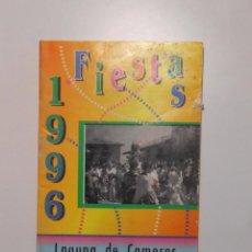 Documentos antiguos: PROGRAMA DE FIESTAS DE LAGUNA DE CAMEROS. LA RIOJA. 1996. TDKP2. Lote 101928099