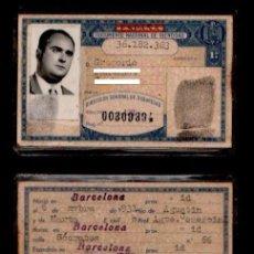 Documentos antiguos: DNI ANONIMO 36.182.363- C10-2 - CARNET DE IDENTIDAD DE EXPEDIDO EN BARCELONA EL 4 DE AGOSTO DE 1966. Lote 101946047