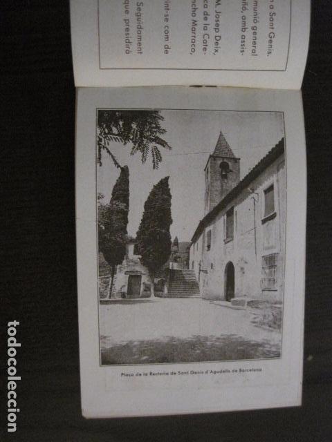 Documentos antiguos: S. GENIS DE AGUDELLS- BARCELONA-FESTA MAJOR ANY 1931 -VER FOTOS - (V-12.451) - Foto 5 - 102017959