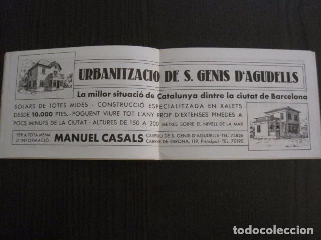 Documentos antiguos: S. GENIS DE AGUDELLS- BARCELONA-FESTA MAJOR ANY 1931 -VER FOTOS - (V-12.451) - Foto 6 - 102017959