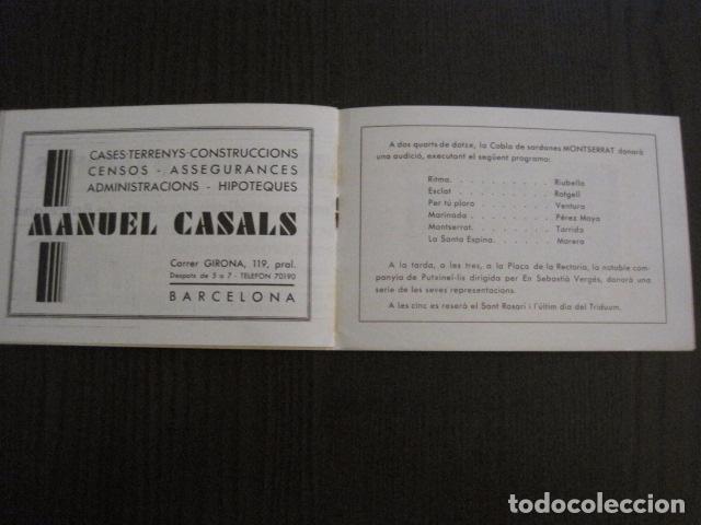 Documentos antiguos: S. GENIS DE AGUDELLS- BARCELONA-FESTA MAJOR ANY 1931 -VER FOTOS - (V-12.451) - Foto 7 - 102017959