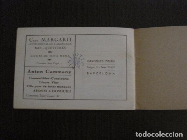 Documentos antiguos: S. GENIS DE AGUDELLS- BARCELONA-FESTA MAJOR ANY 1931 -VER FOTOS - (V-12.451) - Foto 12 - 102017959