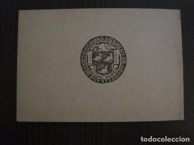 Documentos antiguos: S. GENIS DE AGUDELLS- BARCELONA-FESTA MAJOR ANY 1931 -VER FOTOS - (V-12.451) - Foto 13 - 102017959