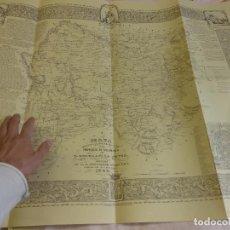 Documentos antiguos: PROVINCIA SALAMANCA SELECCIÓN CARTOGRAFÍA S. XIX-VARIOS MAPAS EN CARPETA-ORIGINALES 1847-1860. Lote 102452507