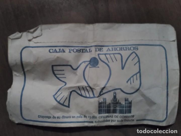 Documentos antiguos: sobre de telegrama - caja postal de ahorros - 1981 - Foto 2 - 102776955