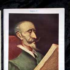 Documentos antiguos: QUIJOTE - CON LAMINAS COLOR - LISTADO EDICIONES - DOCUMENTACION CERVANTINA - 1922 - 97 PÁGINAS. Lote 103523339