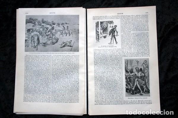 Documentos antiguos: QUIJOTE - CON LAMINAS COLOR - LISTADO EDICIONES - DOCUMENTACION CERVANTINA - 1922 - 97 páginas - Foto 10 - 103523339