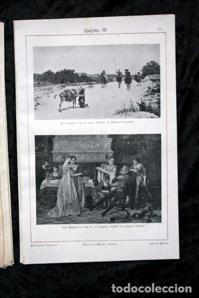 Documentos antiguos: QUIJOTE - CON LAMINAS COLOR - LISTADO EDICIONES - DOCUMENTACION CERVANTINA - 1922 - 97 páginas - Foto 14 - 103523339