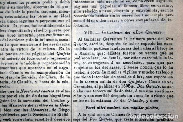 Documentos antiguos: QUIJOTE - CON LAMINAS COLOR - LISTADO EDICIONES - DOCUMENTACION CERVANTINA - 1922 - 97 páginas - Foto 18 - 103523339
