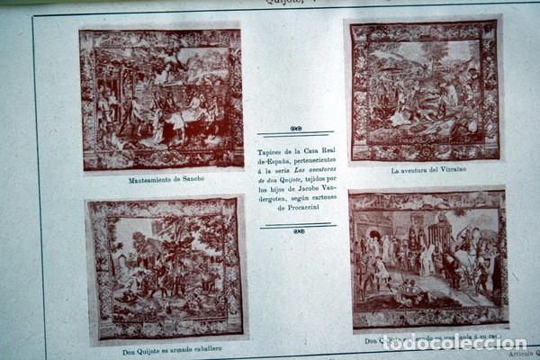 Documentos antiguos: QUIJOTE - CON LAMINAS COLOR - LISTADO EDICIONES - DOCUMENTACION CERVANTINA - 1922 - 97 páginas - Foto 20 - 103523339