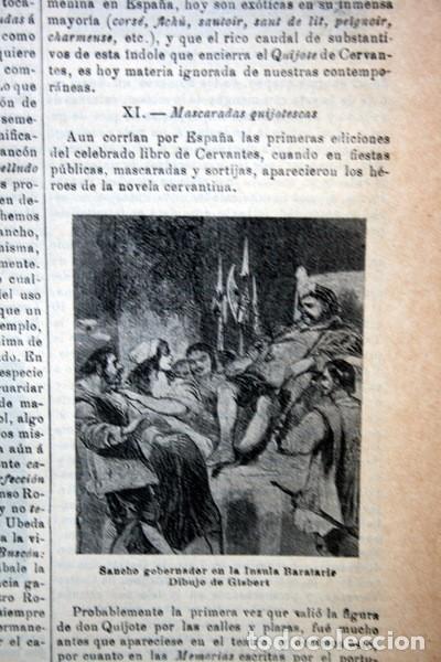Documentos antiguos: QUIJOTE - CON LAMINAS COLOR - LISTADO EDICIONES - DOCUMENTACION CERVANTINA - 1922 - 97 páginas - Foto 23 - 103523339