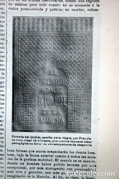 Documentos antiguos: QUIJOTE - CON LAMINAS COLOR - LISTADO EDICIONES - DOCUMENTACION CERVANTINA - 1922 - 97 páginas - Foto 26 - 103523339