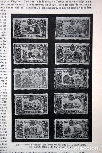 Documentos antiguos: QUIJOTE - CON LAMINAS COLOR - LISTADO EDICIONES - DOCUMENTACION CERVANTINA - 1922 - 97 páginas - Foto 27 - 103523339
