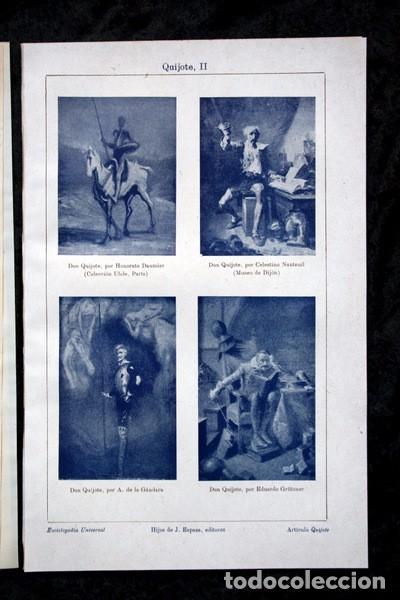 Documentos antiguos: QUIJOTE - CON LAMINAS COLOR - LISTADO EDICIONES - DOCUMENTACION CERVANTINA - 1922 - 97 páginas - Foto 29 - 103523339