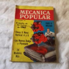 Documentos antiguos: MECÁNICA POPULAR DICIEMBRE 1961. Lote 103844871