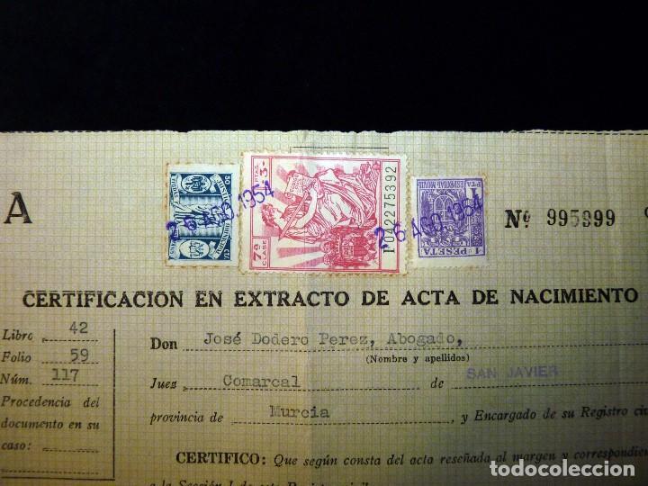 certificado en extracto de acta de nacimiento. - Comprar en ...