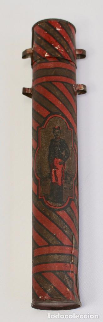 Documentos antiguos: BOTE ORIGINAL CON DOCUMENTO, DE LICENCIA ABSOLUTA FECHADO EN 1898. 23 cm bote - Foto 3 - 104792603