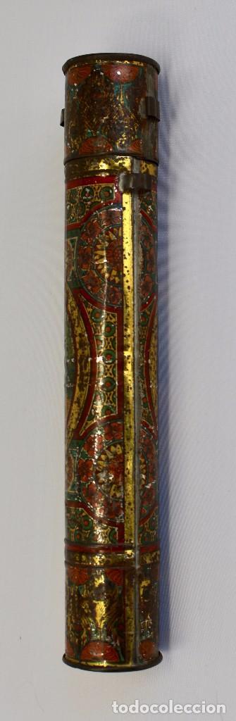 Documentos antiguos: BOTE ORIGINAL CON DOCUMENTO, DE LICENCIA ABSOLUTA FECHADO EN 1874. 2,7 cm bote Y SELLO - Foto 3 - 104793843