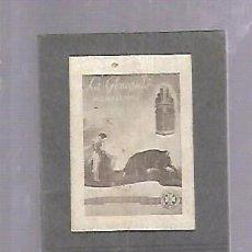 Documentos antiguos: EXTRACTO REGLAMENTO OFICIAL ESPECTACULOS TAURINOS. PUBLICIDAD LABORATORIOS BECA. 6 X 8CM. Lote 104951059