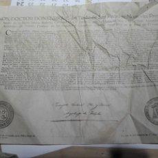 Documentos antiguos: DOCUMENTO BULA . INDULTO. ARZOBISPO TOLEDO 1950. Lote 105380442