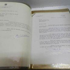 Documentos antiguos: PINTOR RAFAEL DURANCAMPS DOCUMENTACIÓN NECROLÓGICA 2 CARPETAS CARTAS TELEGRAMAS DESTACA CASA REAL. Lote 105605243
