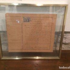 Documentos antiguos: CERTIFICACIÓN ACADEMICA FACULTAD MEDICINA AL MEDICO SEVERO FIGAROLA SERRET ASISTENCIA SANITRIA . Lote 105671507