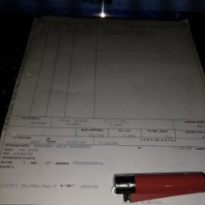Documentos antiguos: FACTURA JOAL 1989. Lote 105848303