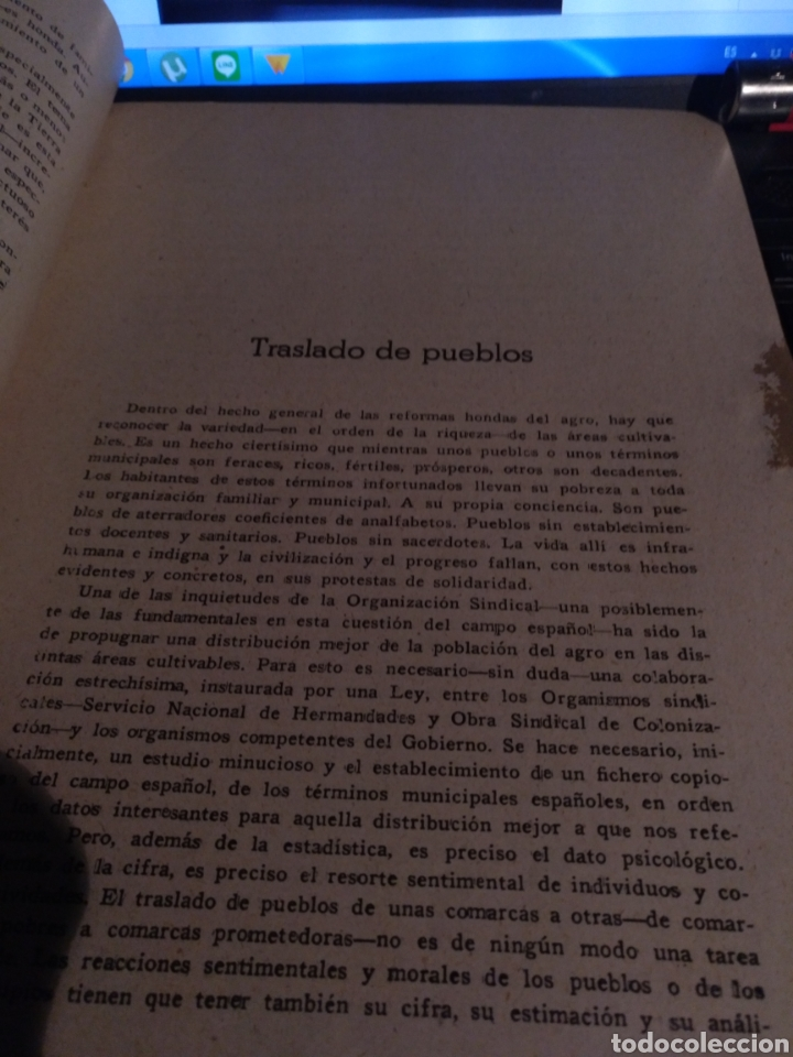 Documentos antiguos: Congreso sindical de ls tierra 1948 Sevilla - Foto 2 - 105897387