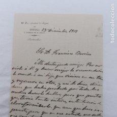 Documentos antiguos: JUEZ PRIVATIVO DE AGUAS DE ORIHUELA Y PUEBLOS DE SU MARCO, 1917. Lote 105959543