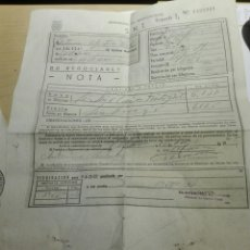 Documentos antiguos: DOCUMENTO DE VENTA DE TRIGO 1964. Lote 106651459