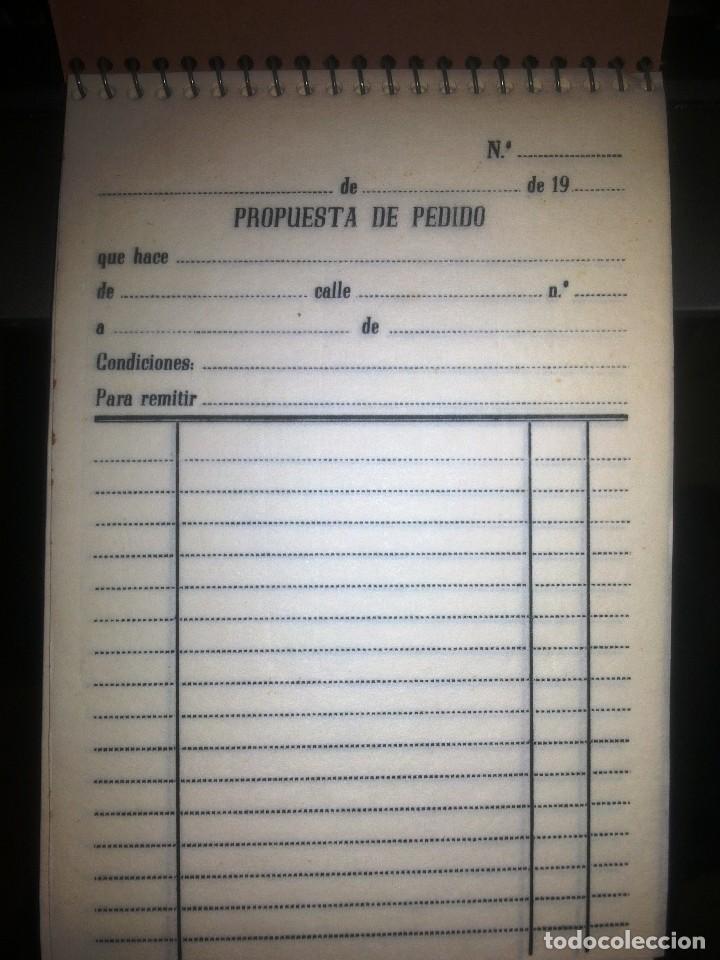 Documentos antiguos: NOTAS DE PEDIDOS. - Foto 2 - 106962411