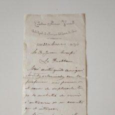 Documentos antiguos: DOCUMENTO ORIGINAL 1910.CELESTINO ALOMAR VANRELL, SUBEDELEGADO FARMACIO DISTRITO DE INCA, LLUBÍ. Lote 107881175