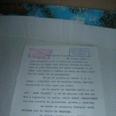 Documentos antiguos: HOJA PUBLICIDAD PAPELERÍA-JUGUETERÍA BAZAR CHAYCAR, VALENCIA. AÑOS 60/70.. Lote 108015931