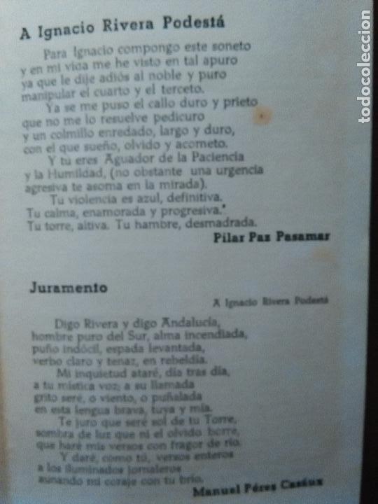 Documentos antiguos: cadiz suplemento antologico torre tavira . poesia , sonetos. gitanilla del carmelo, juan mena. leer - Foto 5 - 108047063