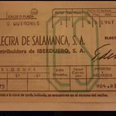 Alte Dokumente - Recibo Electra Salamanca - 108408056