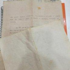 Documentos antiguos: ABANTO Y CIERVANA DOCUMENTO AÑO 1929 SOLICITUD DE SUBSIDIO FAMILIAS NUMEROSAS. Lote 108468359