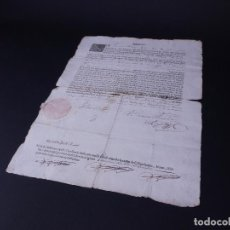 Documentos antiguos: VACANTE EN LA CAPELLANIA DE LA VILLA DE ISNALLOZ, SIGLO XVIII. Lote 108744091