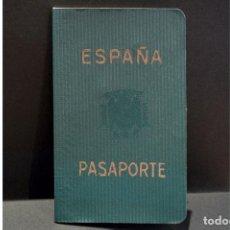 Documentos antiguos: DOCUMENTACIÓN PASAPORTE ESPAÑA 1966. Lote 108909639