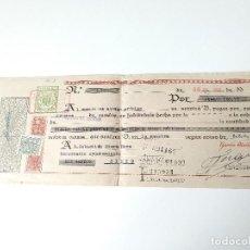 Documentos antiguos: DOCUMENTO DE PAGO BANCARIO ORIGINAL 1953. RAMON ABELLÓ. LA CARTUJA PALMA MALLORCA. Lote 109538771