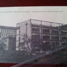 Documentos antiguos: COPIA SEMINARIO SANTISIMA TRINIDAD DE SEGORBE ESTADO DE LAS OBRAS EN FEBRERO DEL AÑO ACTUAL. Lote 109539967