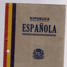 Documentos antiguos: PASAPORTE REPUBLICA ESPAÑOLA. LA HABANA. CUBA. 12 DE JUNIO DE 1933. Lote 109816239