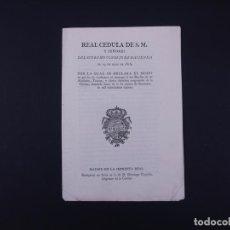 Alte Dokumente - REAL CEDULA FERNANDO VII, MADRID 1816 - 109849123