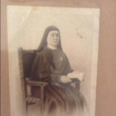 Documentos antiguos: ESTAMPA MADRE CAYETANA ALBERTA GIMENEZ (FUNDADORA DEL INSTITUTO DE LA PUREZA DE MARIA SANTISIMA). Lote 110093367