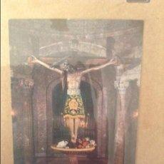 Documentos antiguos: ESTAMPA SANTO CRISTO DE LA SANGRE (PALMA DE MALLORCA). Lote 110095963