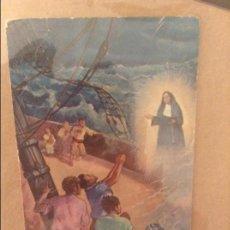 Documentos antiguos: ESTAMPA SOR FRANCINAINA CIRER. FUNDADORA DEL CONVENTO DE LA CARIDAD. SENCELLES (1781 - 1855). Lote 110096167
