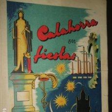 Documentos antiguos: CALAHORRA LA RIOJA PROGRAMA FIESTAS 1952 114 PAGS. Lote 110314527