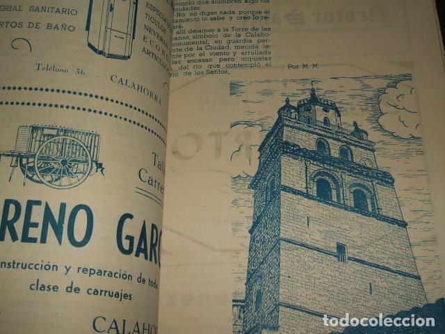 Documentos antiguos: CALAHORRA LA RIOJA PROGRAMA FIESTAS 1952 114 PAGS - Foto 2 - 110314527